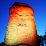 Bismarckturm Kassel frontal