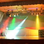 Bühnenbeleuchtung Karneval 2
